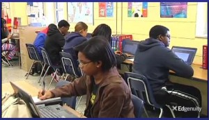 Henrico Students using Edgenuity