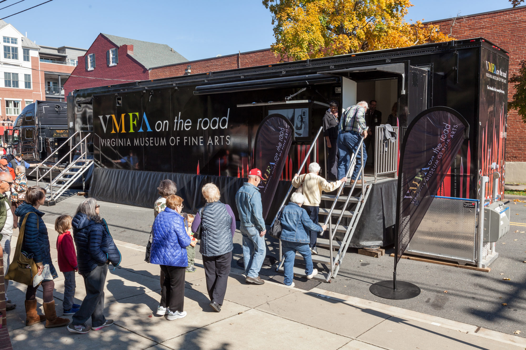 VMFA's New Artmobile Is Inspiring New Generations Of Art Lovers