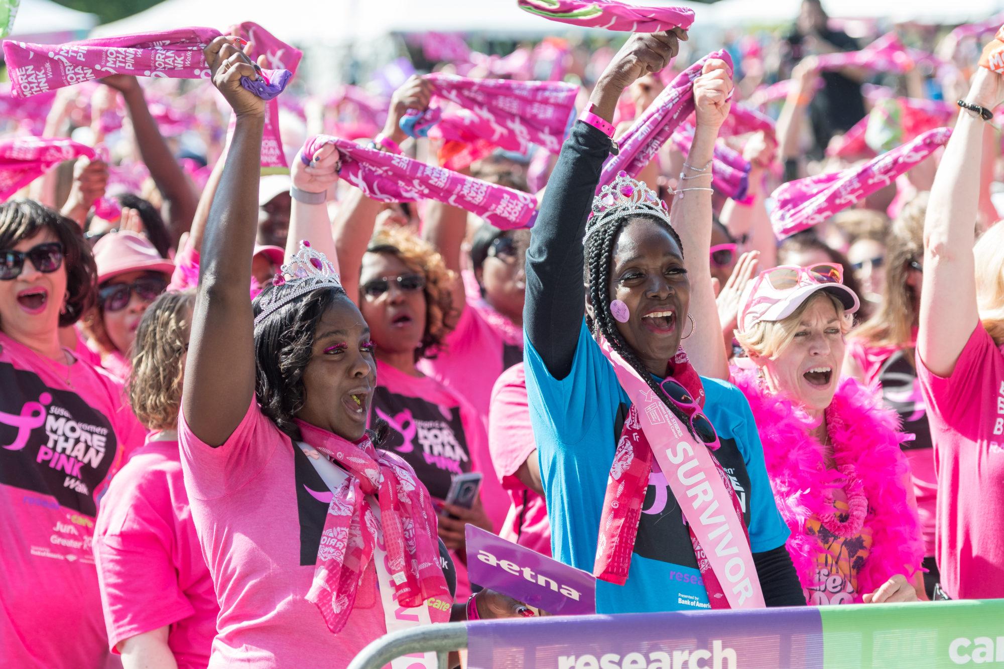 Susan G. Komen Debuts Its More Than Pink Walk, Saturday, May 11
