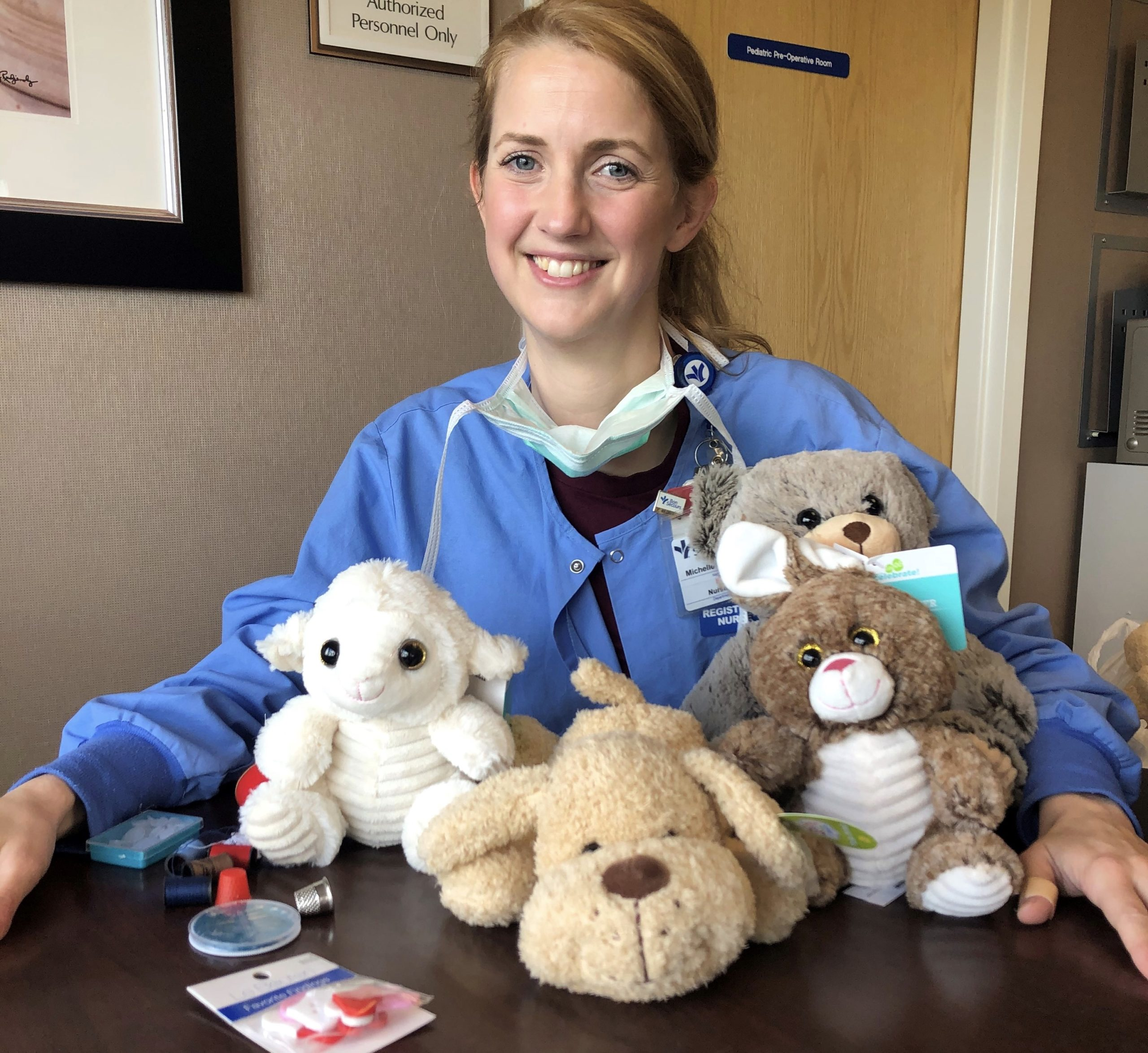 Local Nurse's Patient-Support Effort At St. Mary's Is High-Tech And Highly Adorable