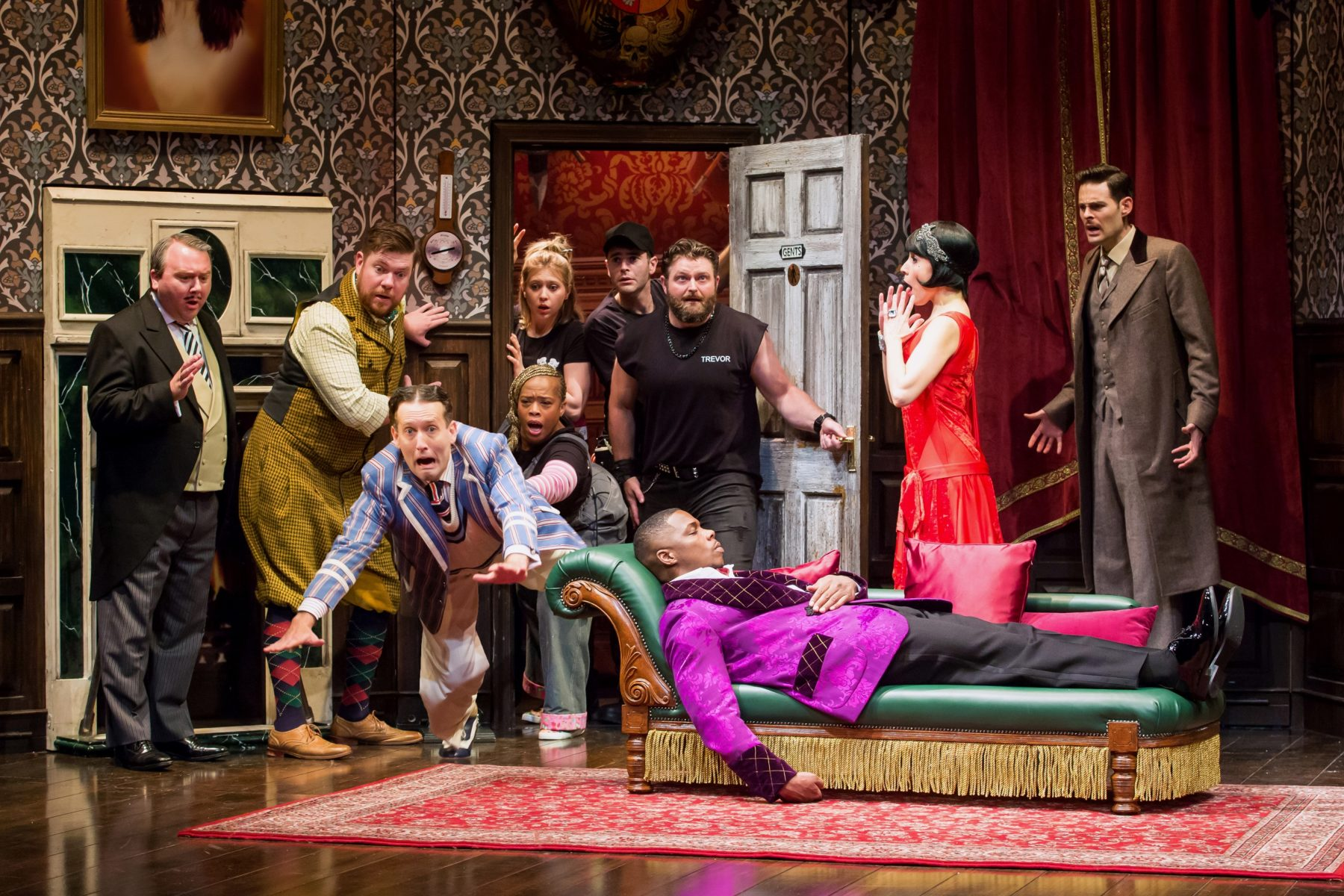 """The Play That Goes Wrong"" Is Flat-Out Fun At The Theatre"