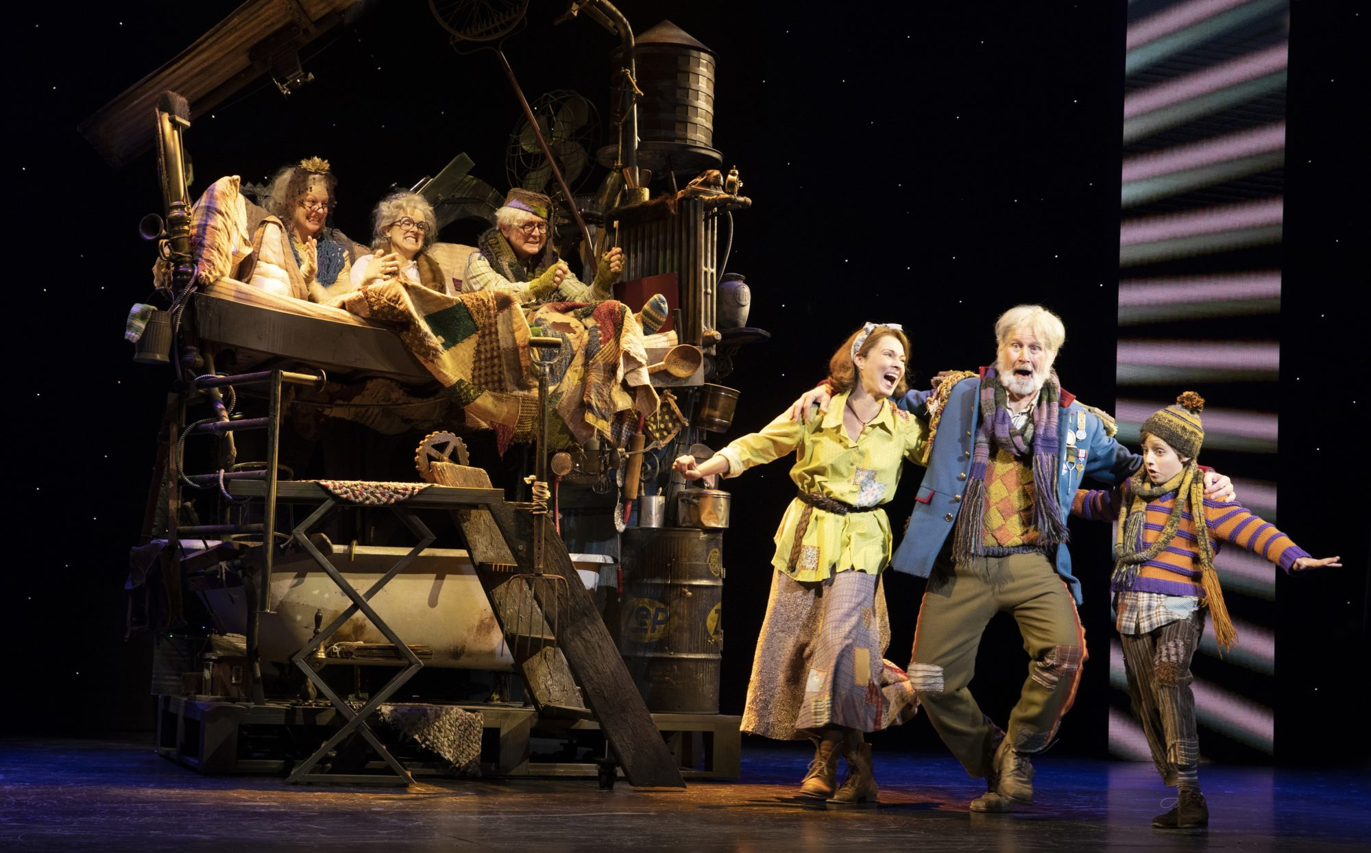 James Young/Grandpa Joe Shares All Kinds Of Reasons To See This Broadway In Richmond Show