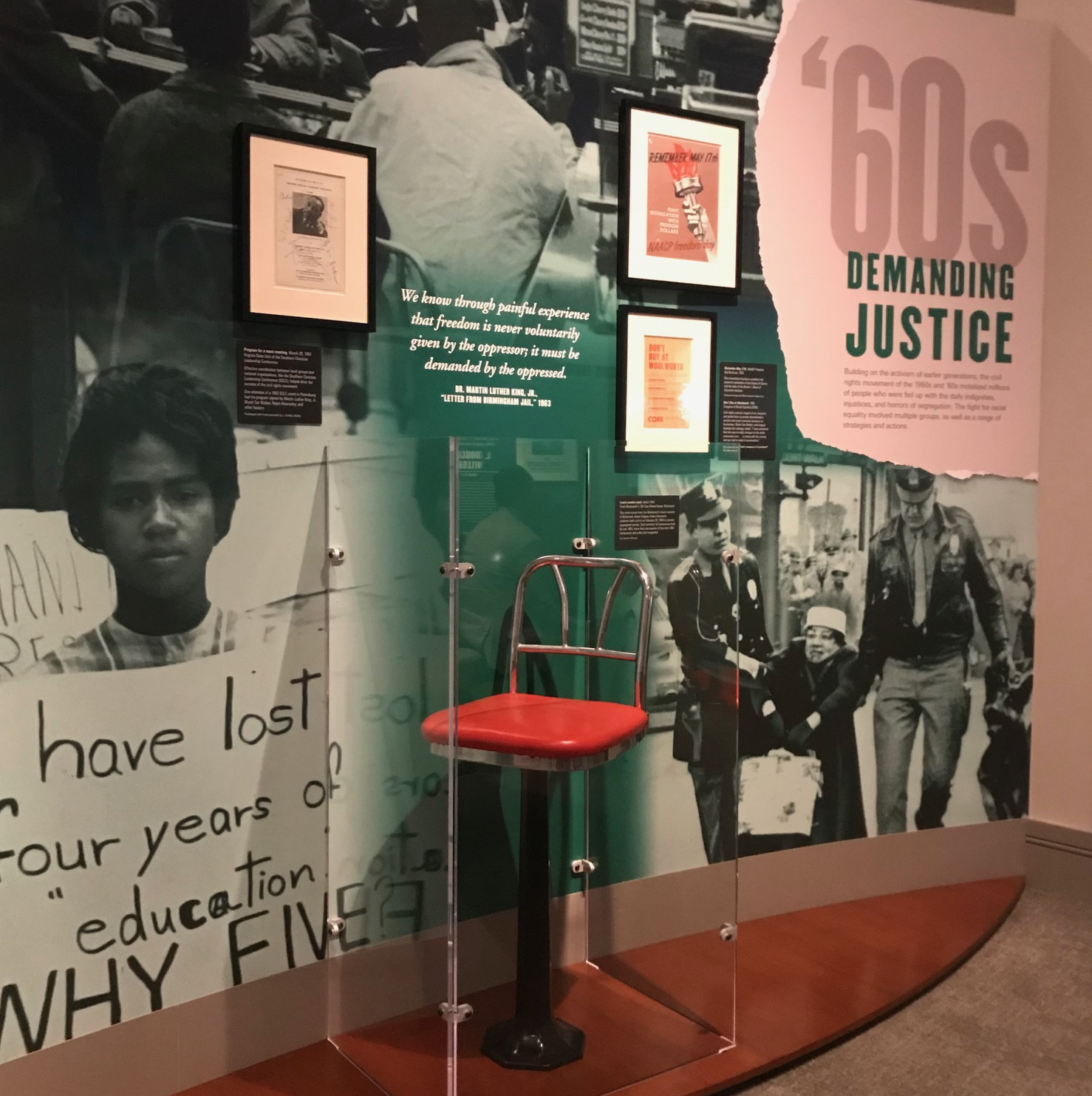 """""""Determined"""" Exhibit At VMHC Is A Must-see For Families – Especially White Families"""