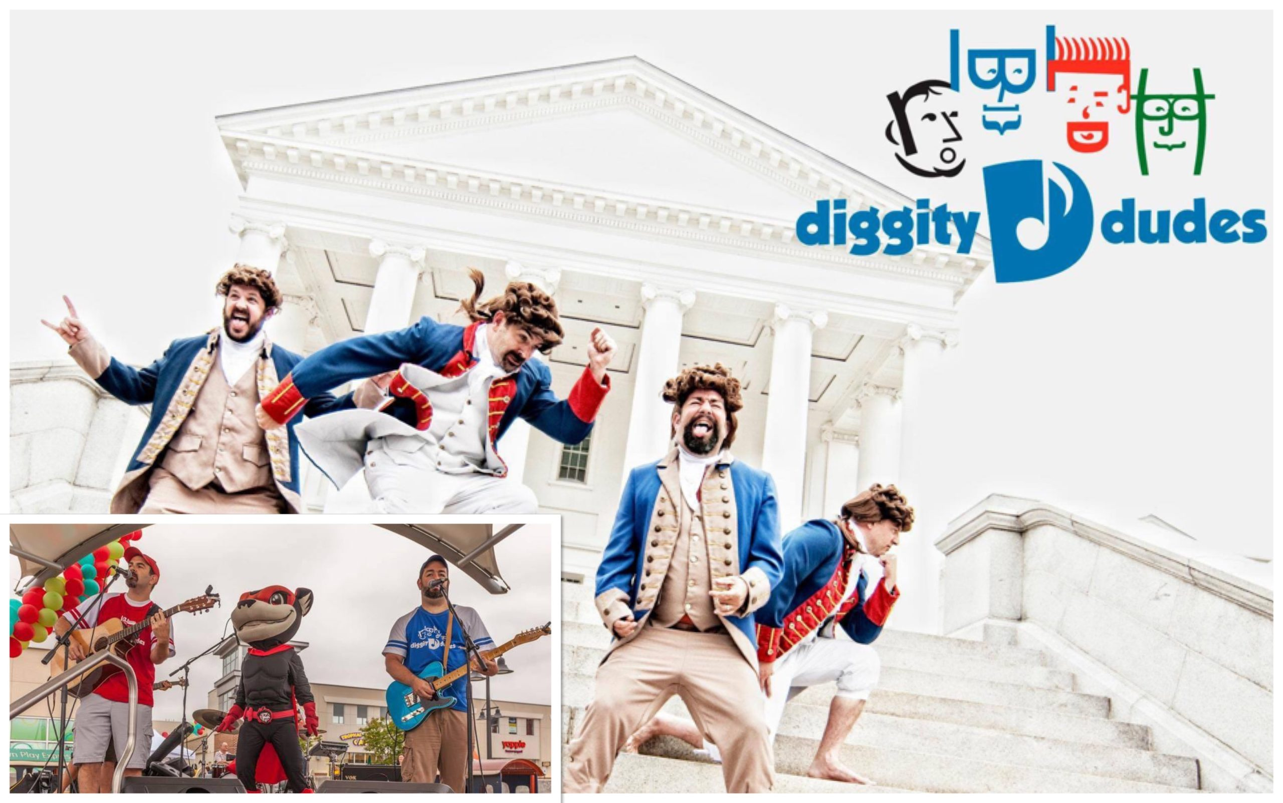 The Diggity Dudes Are Back! Tenth Anniversary Family Concert Is Sunday, June 23