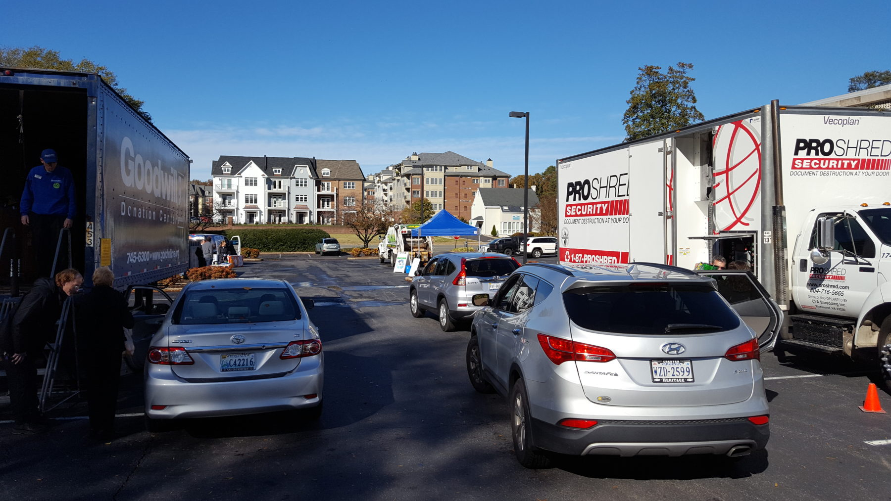 Drive-Thru Recycle Day Returns To Retail Merchants With Keep Virginia Beautiful