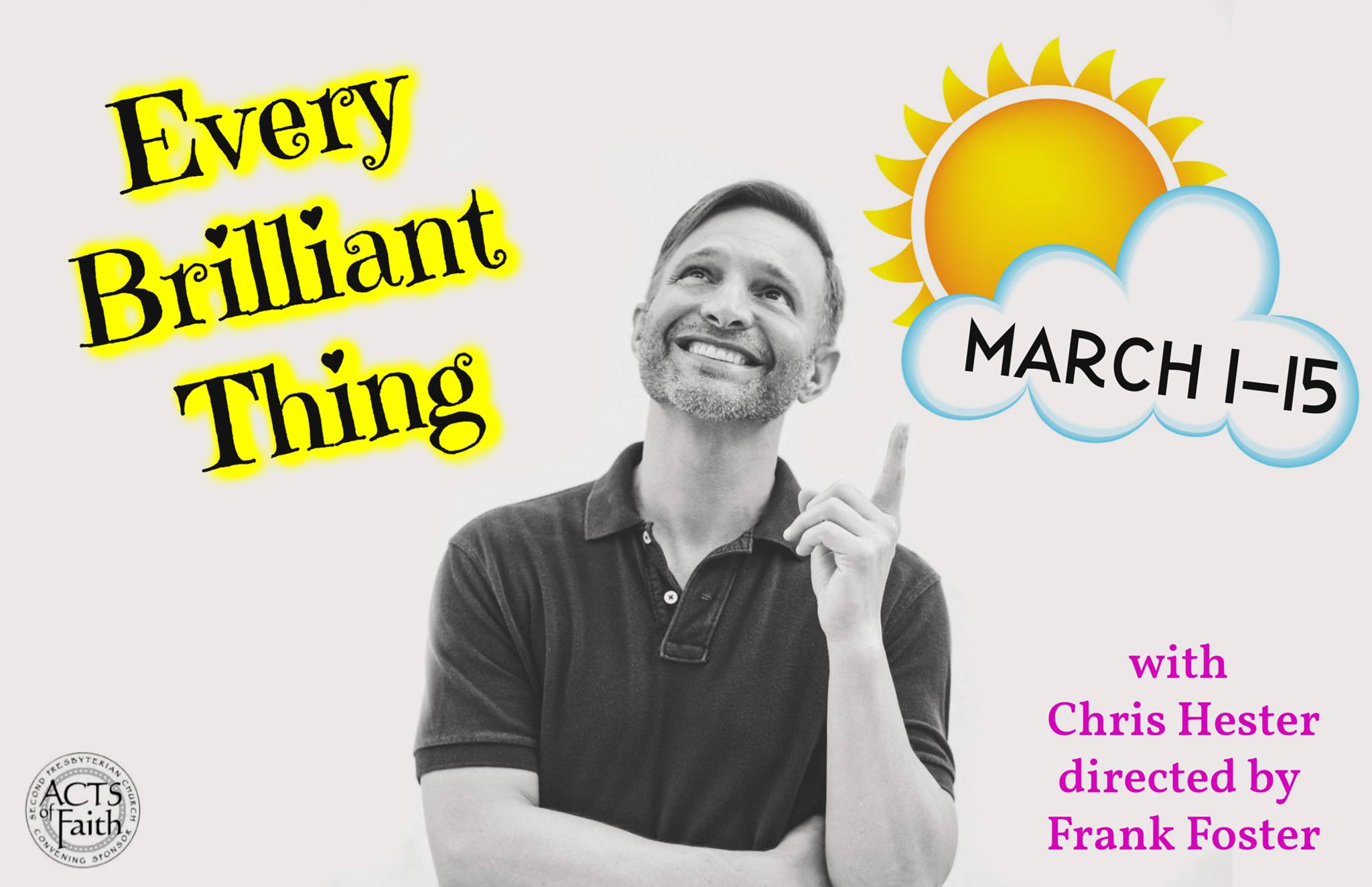 """Chris Hester And Crew Are Brilliant In """"Every Brilliant Thing"""""""