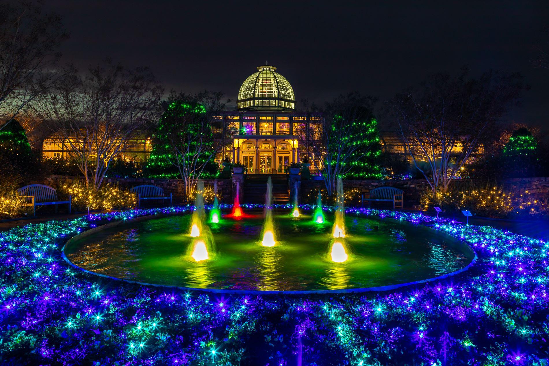 """""""Bringing Art To Light"""" Shines At Lewis Ginter Botanical Garden"""