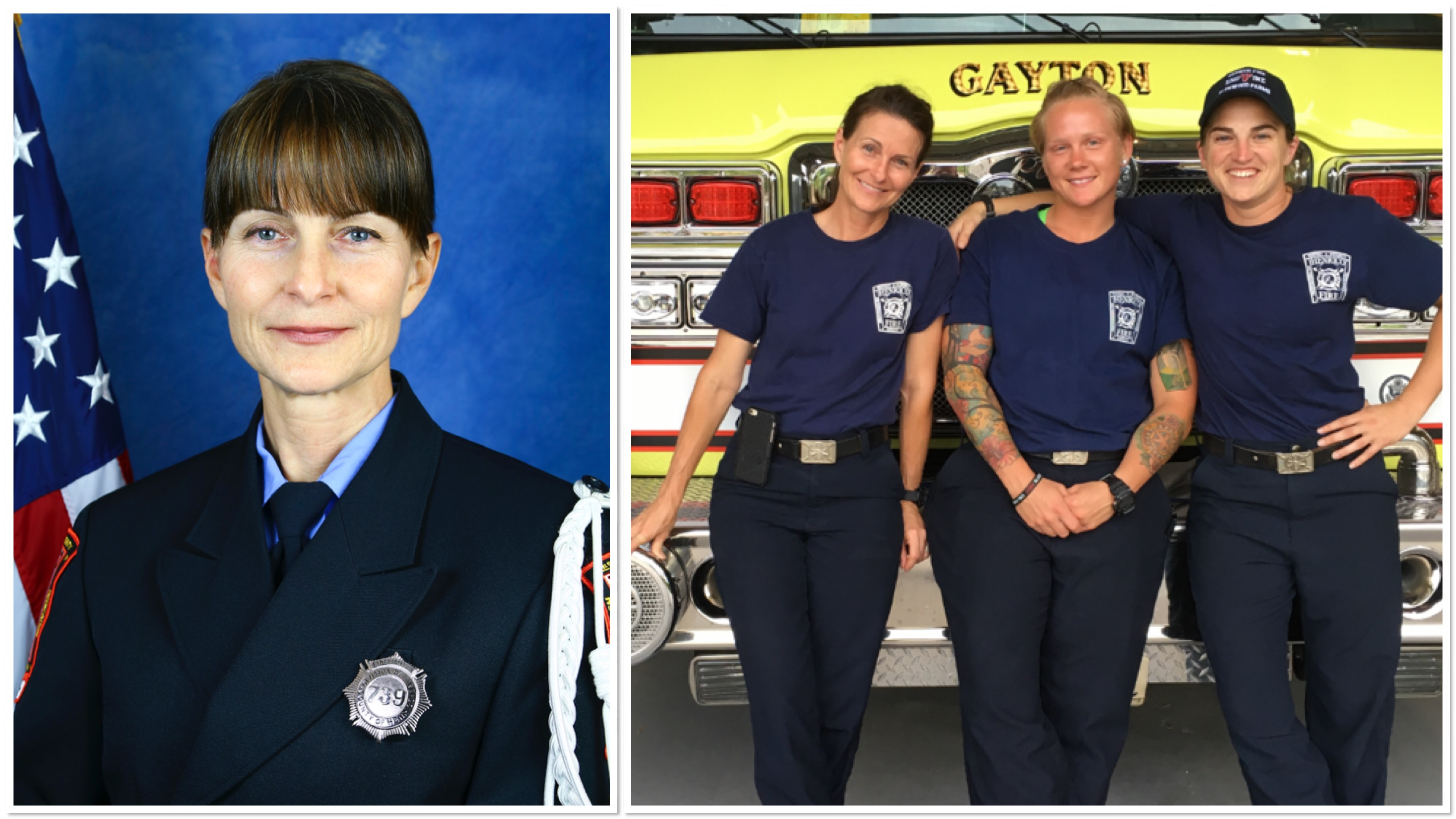 Henrico Firefighter's Journey And Service Inspire Young Women