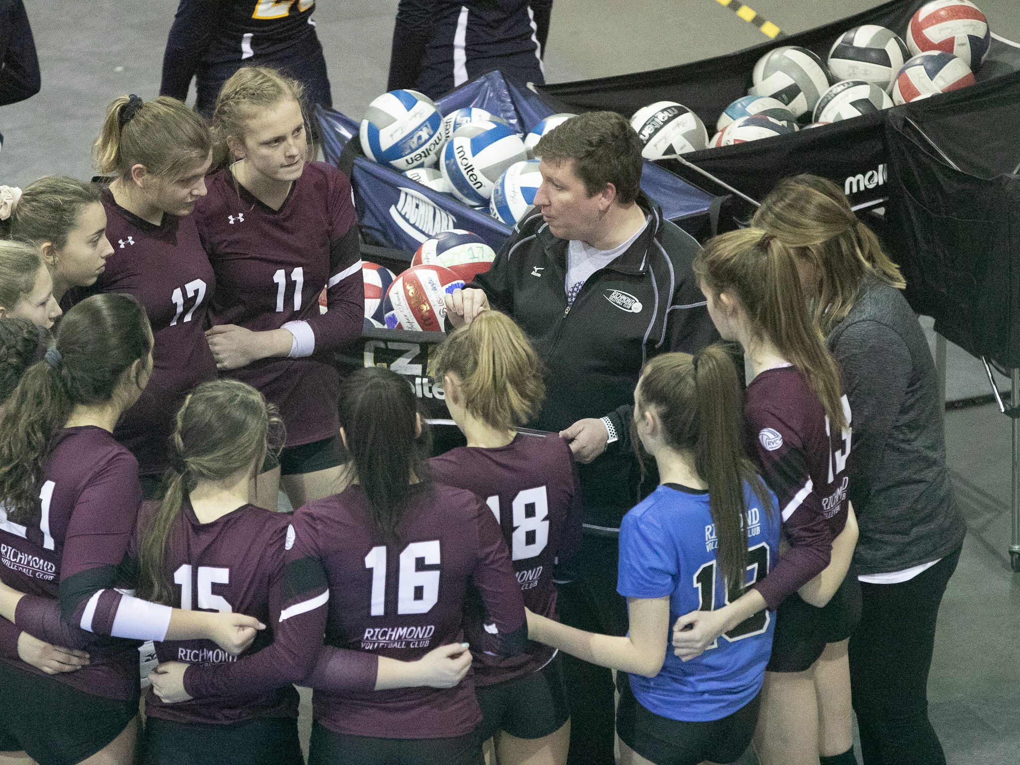 Richmond Volleyball Club Hosts Monument City Classic Juniors Volleyball Tournament