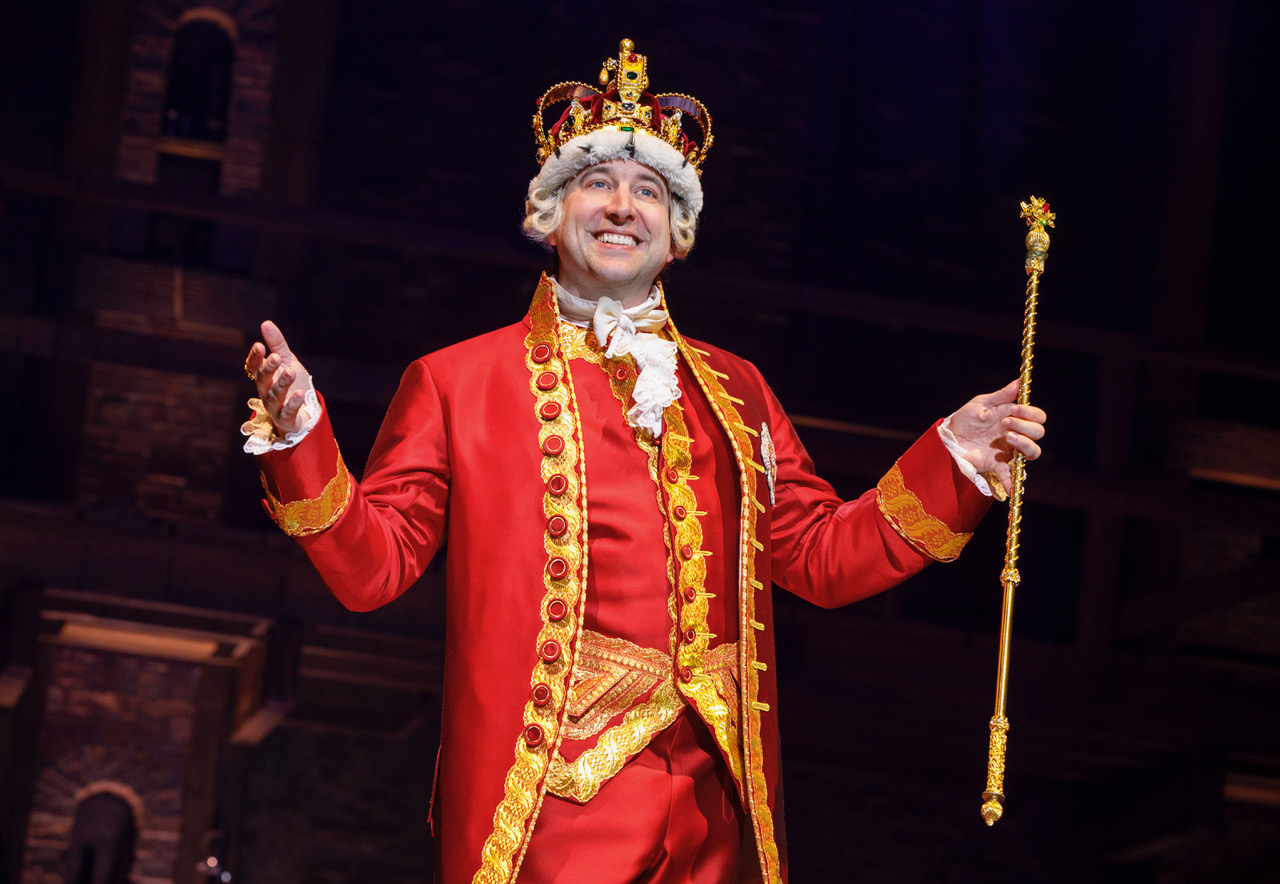 "Find Out When King George, Peter Matthew Smith, Finally Saw ""Hamilton"""