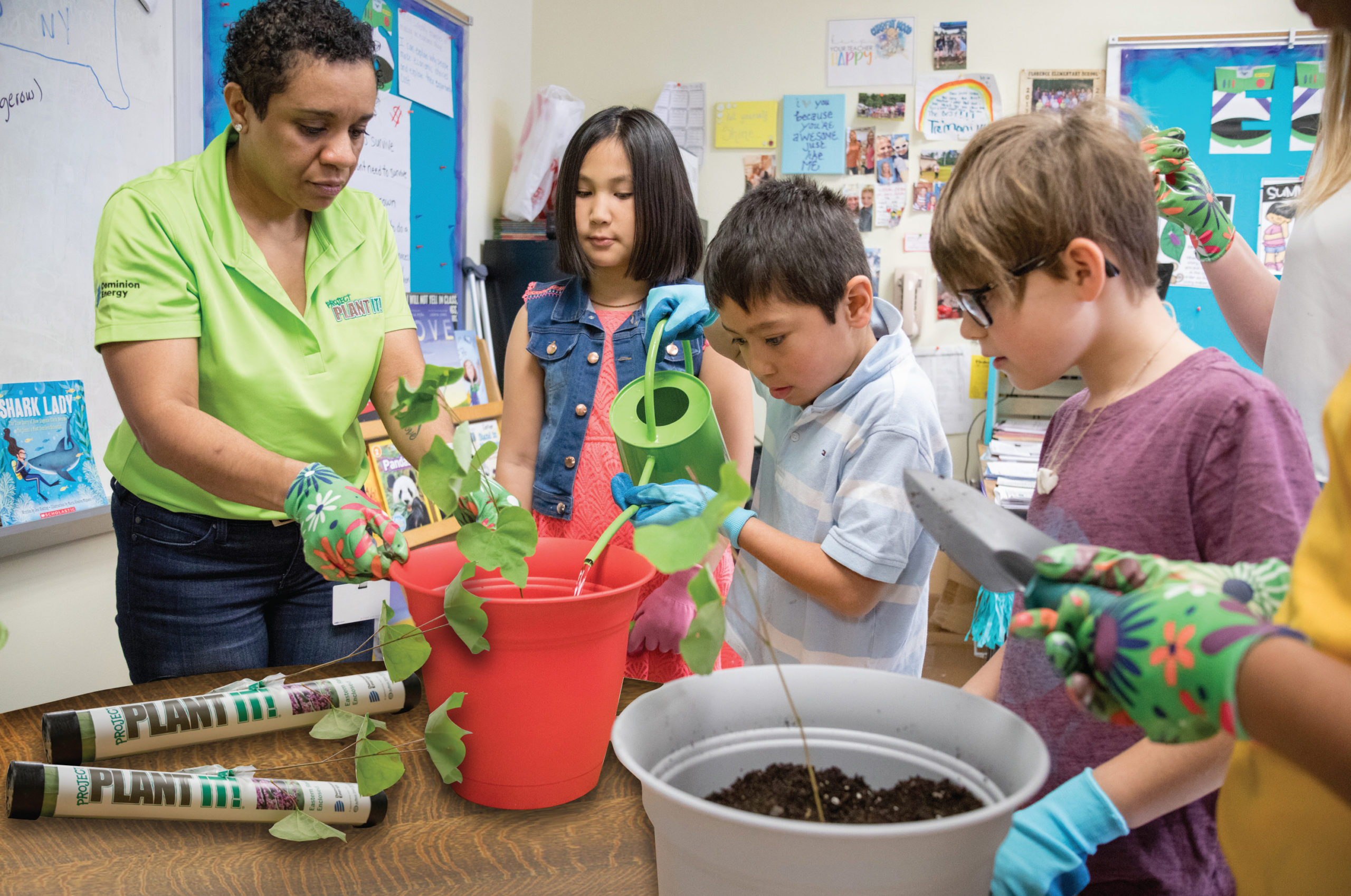 Project Plant It! Connects Students To Trees And Environment