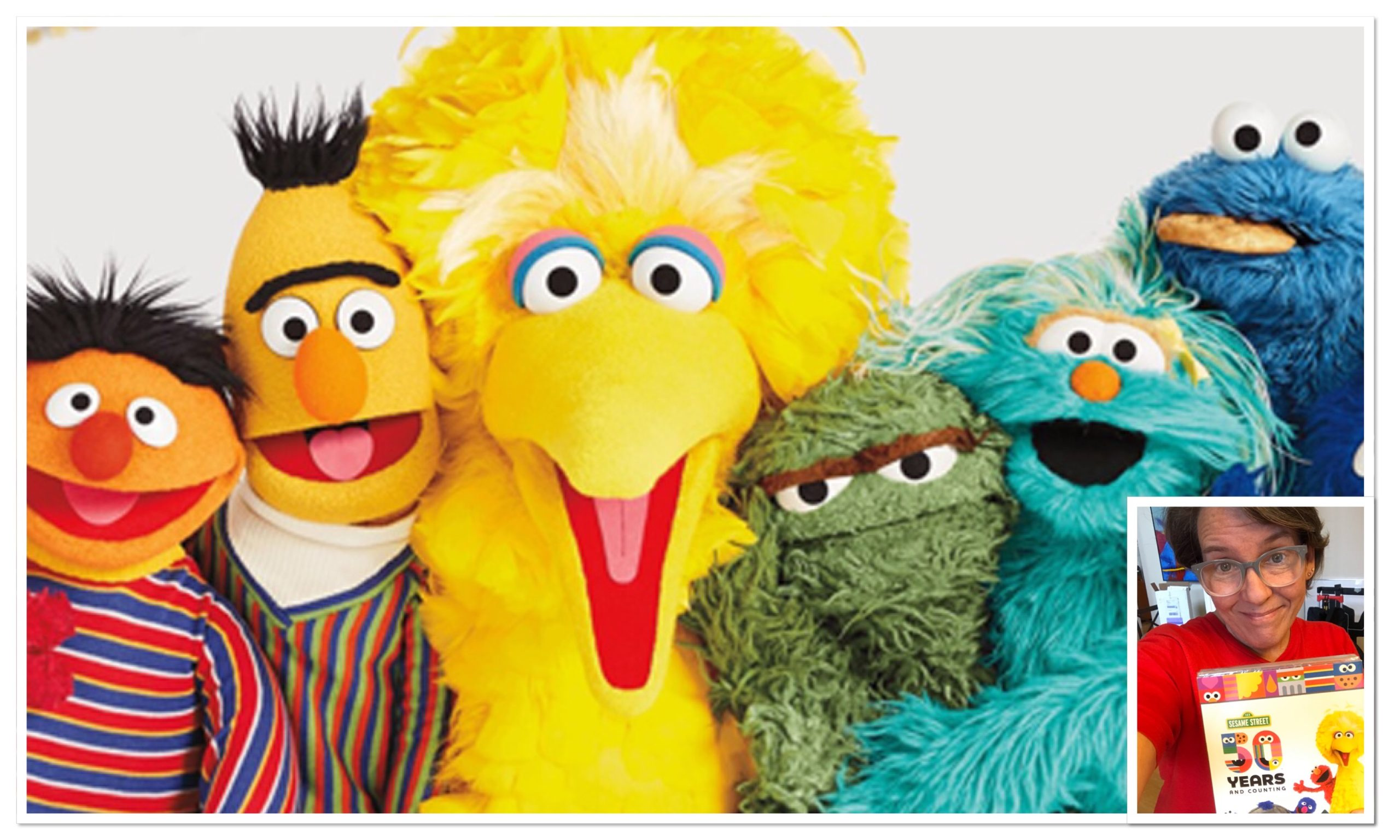 "Joyful, Playful DVD, ""Sesame Street: 50 Years And Counting,"" Takes You Back And Lifts You Up!"
