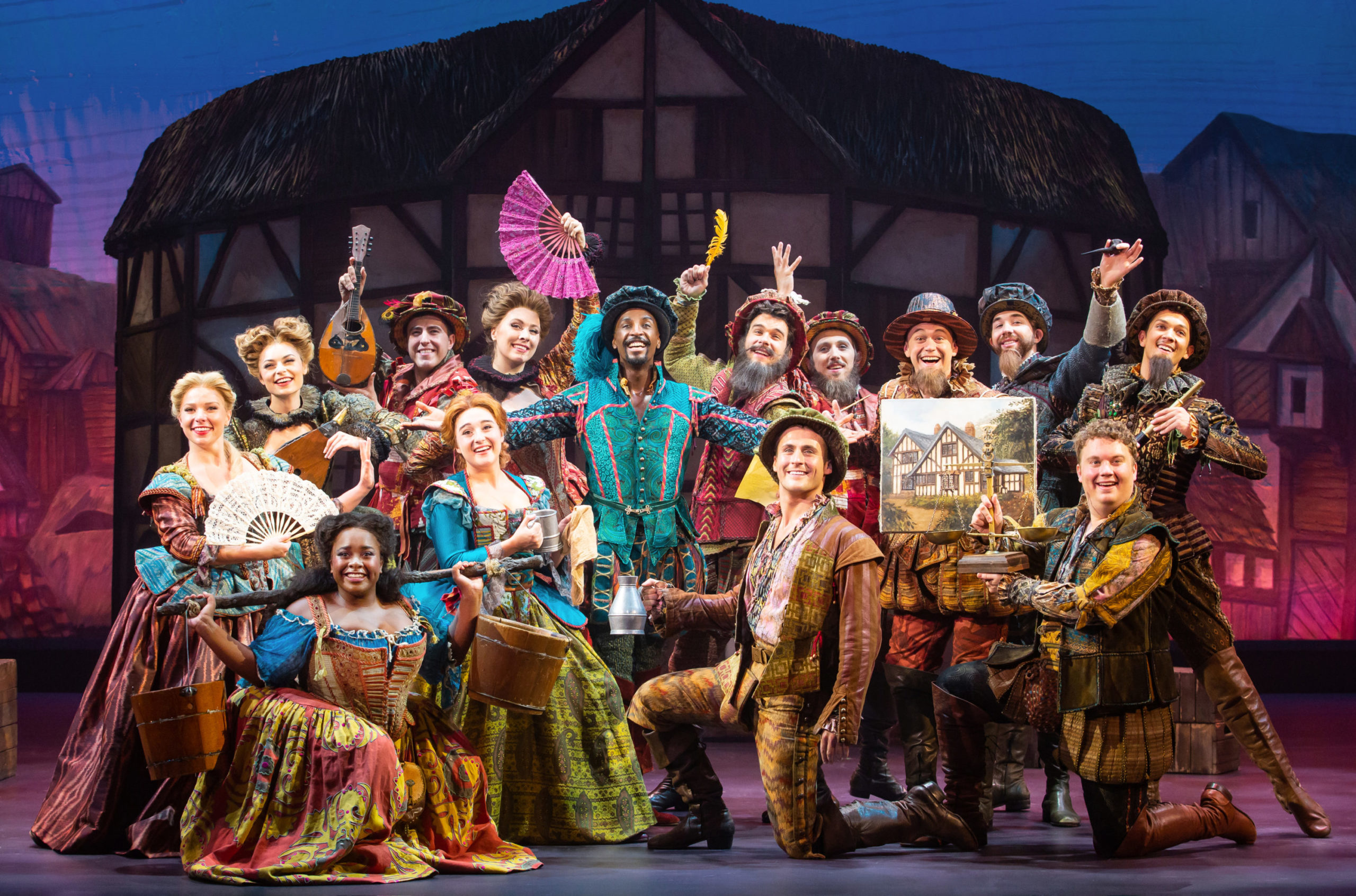 """Something Rotten"" Is Something Special For Shakespeare Wannabe Fans"