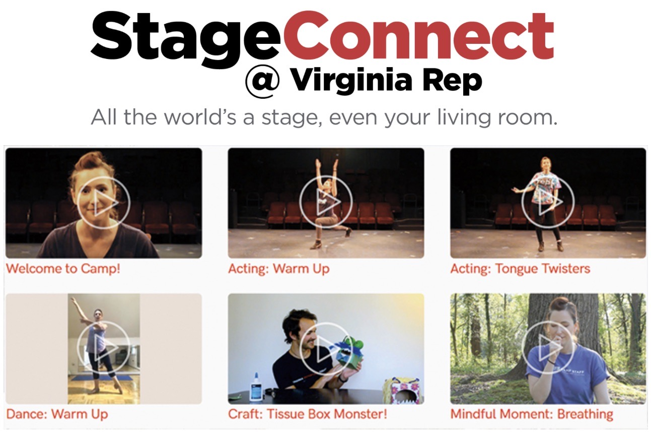 Virginia Repertory Theatre Keeps The Community Connected
