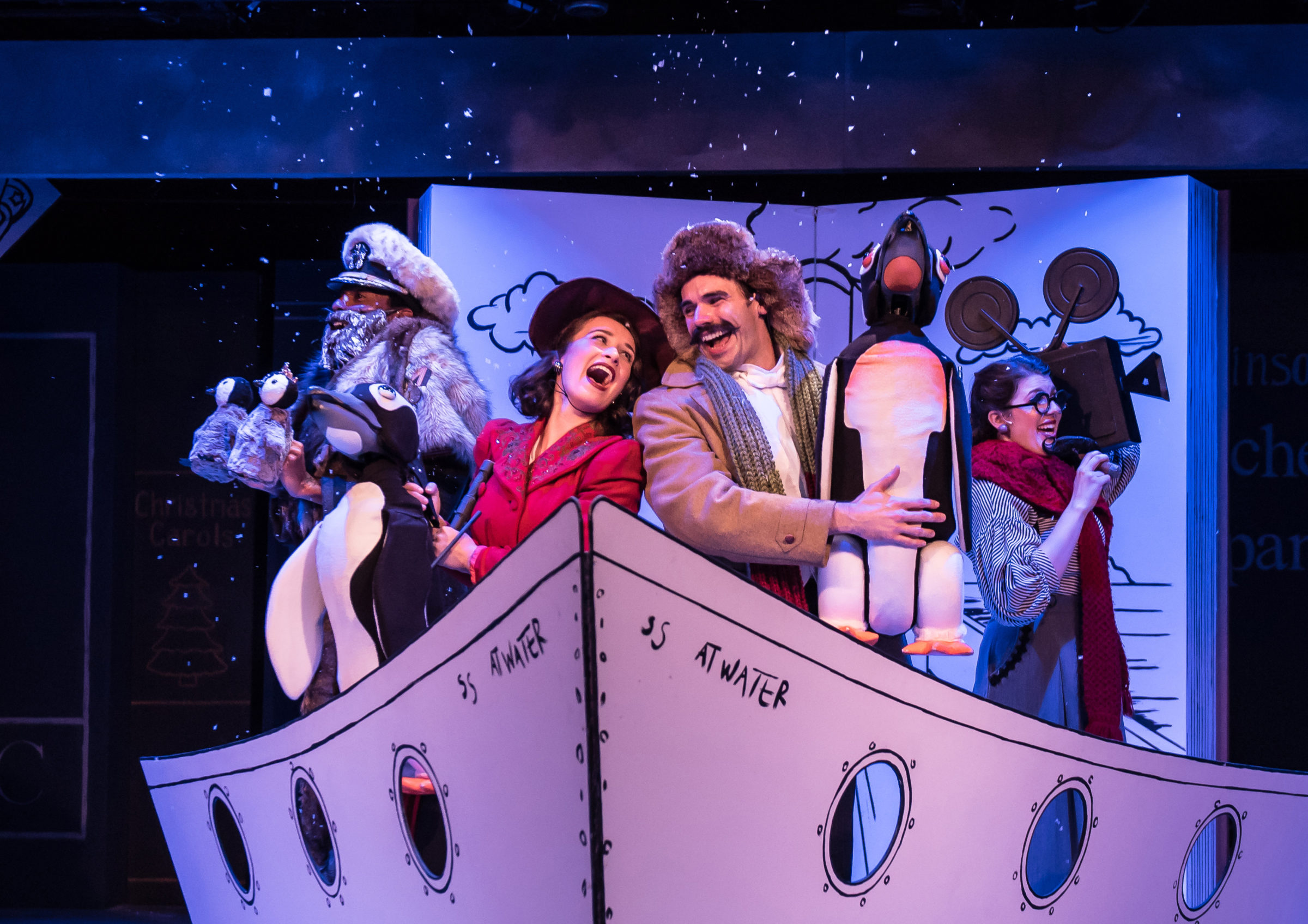 """Mr. Popper's Penguins"" Charms Families With Talent And Innovative Puppetry"