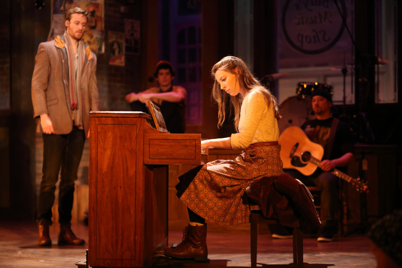 "At November Theatre, The Musical ""Once"" Is Original, Powerful, And Soulful"