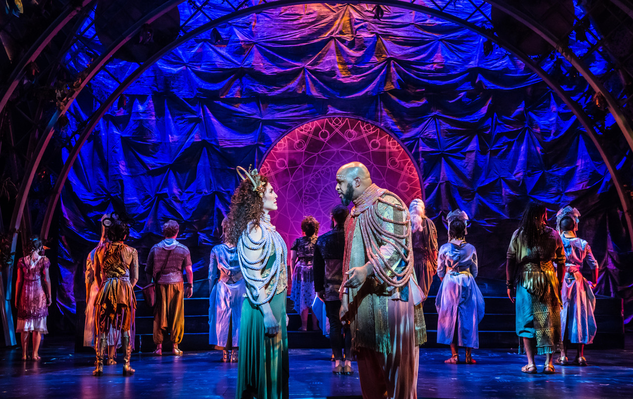 """Broadway-Caliber """"Atlantis"""" Features Powerhouse Cast And Other-worldly Vibe"""