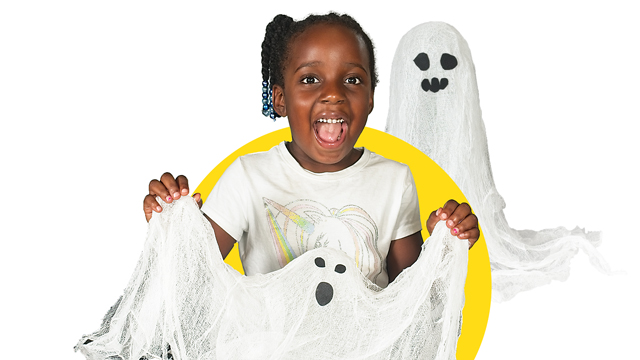 Craft A Ghost Decoration