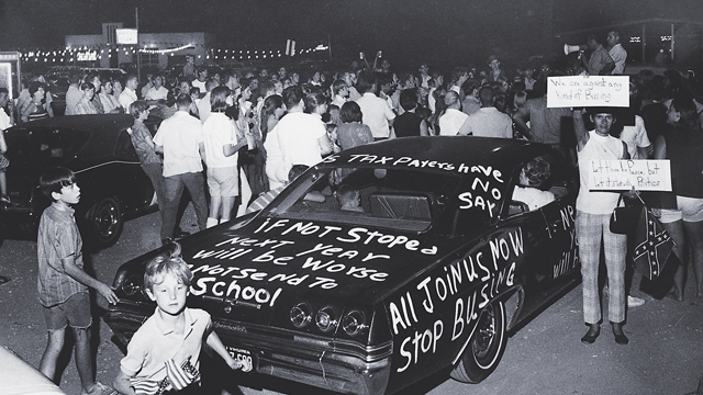 Racial Protests In The 1970s